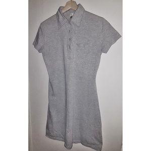 American Apparel Dresses - American Apparel Fine Jersey Leisure Dress GREY